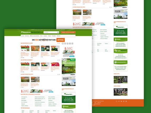 secteur vert annonces